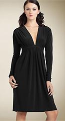 Norma Kamali 'Greta' Long Sleeve Dress