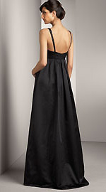Vera Wang Satin Gown - Back