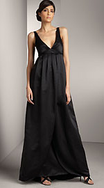 Vera Wang Satin Gown - Front