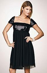 JS Boutique Sequined Babydoll Dress