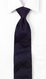 Tonal Check Woven Tie