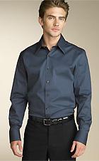 two a.m. Long Sleeve Solid Poplin Shirt