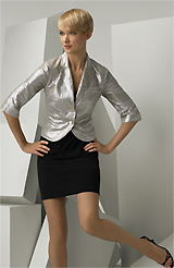 Silver Jackets For Evening Dresses - JacketIn
