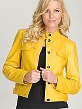 Anne Klein New York Leather Jacket