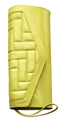 Hobo International Quilted Patent Leather Clutch