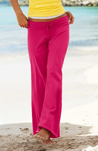 Wide Leg Pant in Luxe Fleece