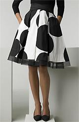 Donna Karan Collection 'Floating Dots' Skirt
