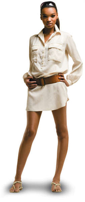 Safari Shirt Dress
