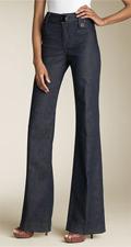 Goldsign 'Treo' High Waist Wide Leg Stretch Jeans