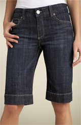 Ladies Denim Bermuda Shorts
