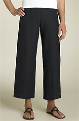 Eileen Fisher Linen Ankle Pants