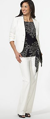 Stretch Viscose Jacket
