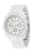 MICHAEL Michael Kors Resin Chronograph Watch with Crystals
