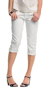 Cropped Matchstick Jean