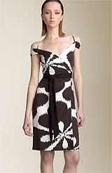 Diane von Furstenberg 'Caledonia' Printed Wrap Dress
