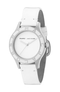 MARC BY MARC JACOBS Oversize Round Watch with Patent Band