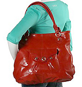 Perlina Handbags Tote With Front Pocket