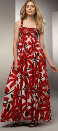 Printed Poppy Patio Dress