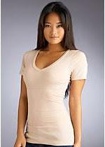 Yummie Tummie: Basic V Shapewear T-Shirt