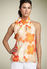 Tevrow + Chase Floral Halter