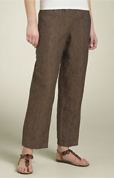 Marc Ware Pinstripe Linen Pants