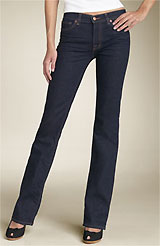 J Brand '805 The Straight Leg' Stretch Jeans (Ink Wash)