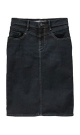 Womens black denim skirt – Fashionable skirts 2017 photo blog