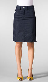 Adaptable denim skirts - YLF