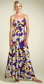 Lush Floral Maxi Dress
