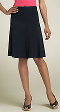 Splendid Roll Waist A-Line Skirt