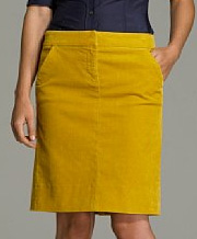 Stretch Vintage Cord Skirt