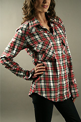 Kettle Black Flannel Shirt