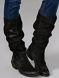 Linus Tall Slouch Rider Boot
