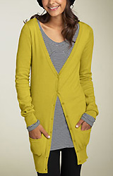 Frenchi Tunic Cardigan