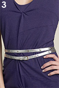 Nordstrom Metallic Studded Wrap Belt