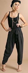 ASOS Premium Silk Harem Trousers