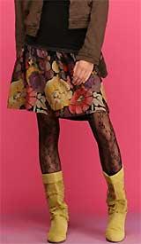 Morning Glory Smocked Skirt