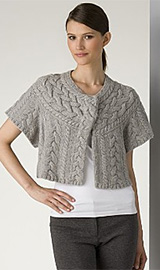 BCBGMAXAZRIA Women's Chunky Cable Sweater