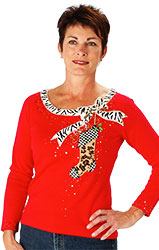 Berek Holiday Diva Boat Neck Sweater