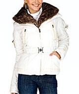 Steve Madden Hooded Jacket