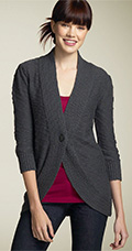 Frenchi® One Button Cardigan