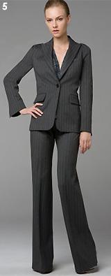 Marcela Pinstriped Jacket