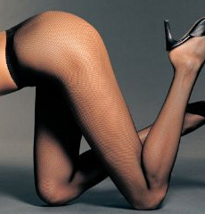 Wolford: The Twenties Fishnet
