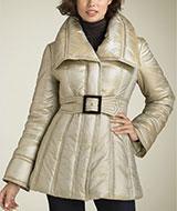 Jessica Simpson Vertical Quilted Coat