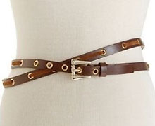 Jessica Simpson Double-Wrap Leather Belt