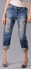 Barracuda Boyfriend Jeans in Vintage Remake