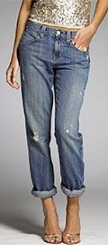 Distressed Vintage Slim Jean