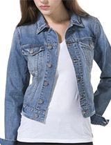 Dusted Blue Denim Jacket