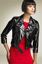 Truth & Pride 'Glamour' Patent Leather Jacket