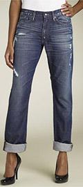 Degaine Rigid Boyfriend Jeans